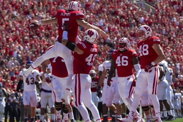 Wisconsin Uses Second Half Surge To Blow By Western Illinois