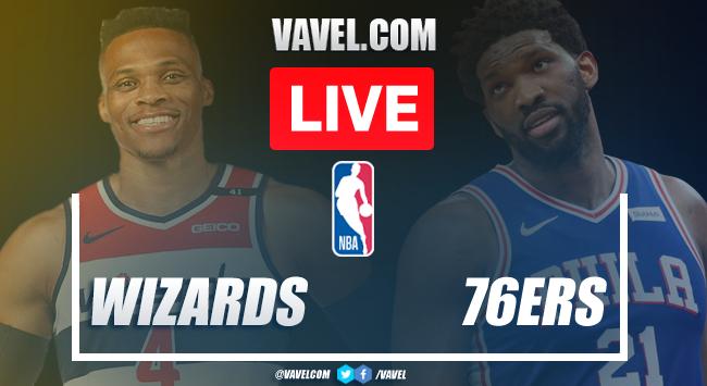 Resumen y mejores momentos del Wizards 112-129 76ers en Juego 5 de los Playoffs de la NBA