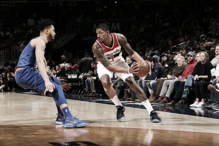 Wizards vencen en casa a Knicks