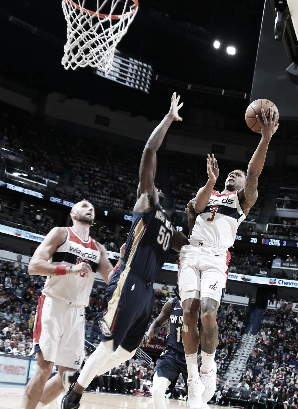 Wizards le quitó el invicto a Pelicans