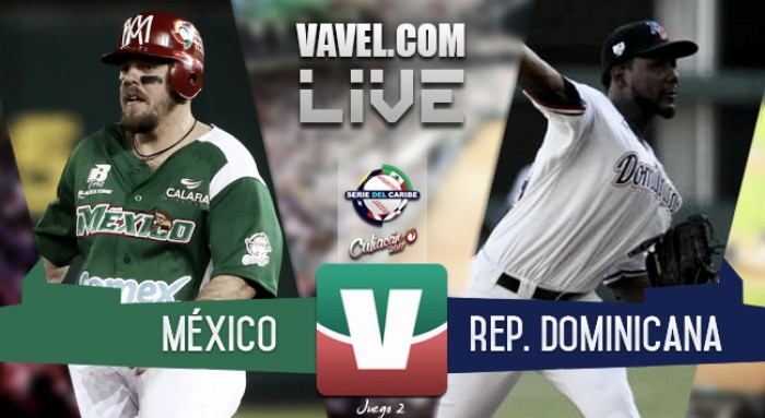 México sigue enrachado y vence a República Dominicana