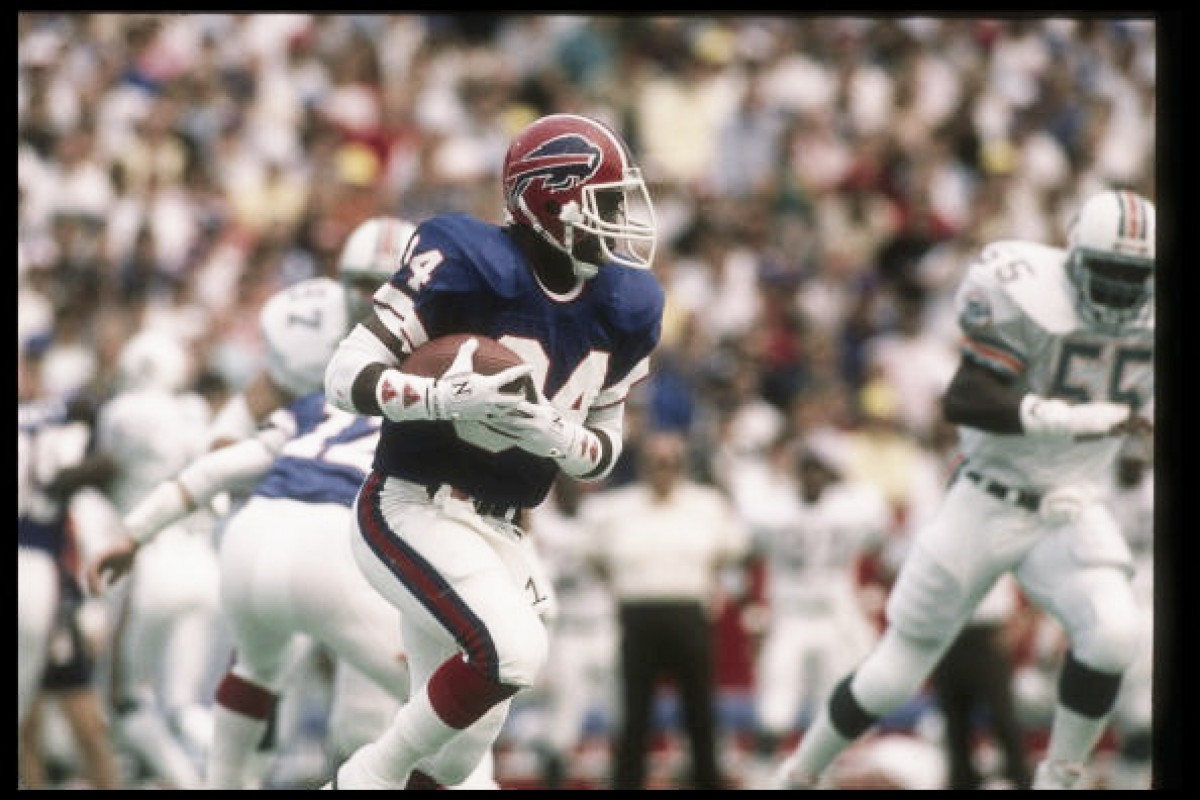 Buffalo Bills retired Thurman Thomas' jersey number