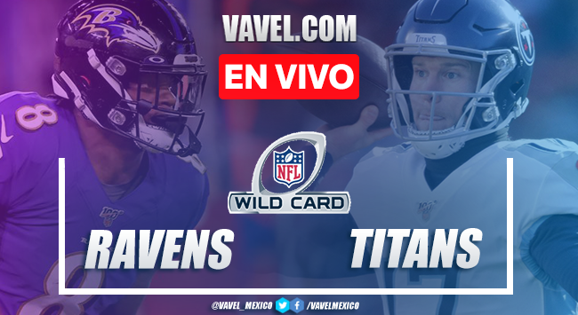 Touchdowns y Resumen Baltimore Ravens 20-13 Tennessee Titans en Comodines NFL 2021