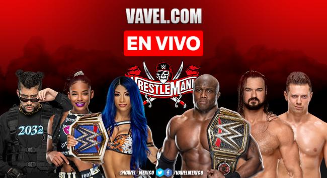 WWE Wrestlemania 37, Resumen y Resultados 2021