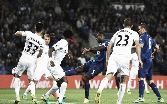 Swansea - Leicester City: Lucha directa por la salvación