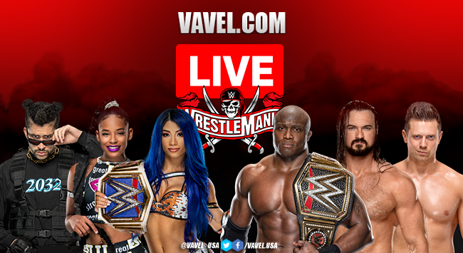 WWE Wrestlemania 37: Matches and Results, 2021