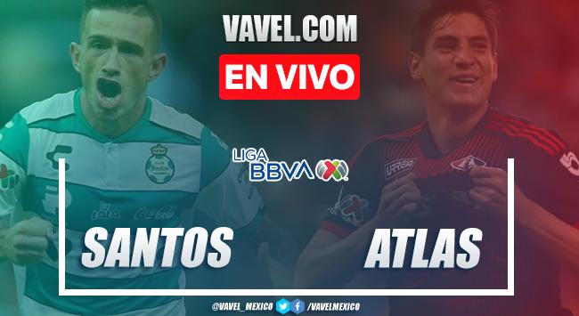 Gol y resumen: Santos 1-0 Atlas en Liga MX 2020