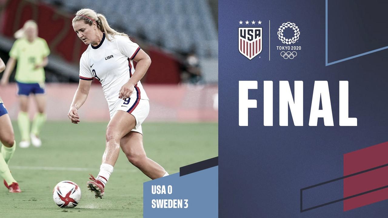 Estados Unidos 0-3 Suecia: durísimo traspié de la actual campeona del mundo