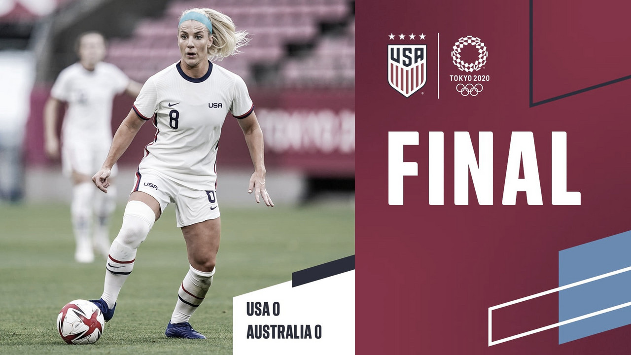 Estados Unidos 0-0 Australia: la actual campeona del mundo avanza a los cuartos de final