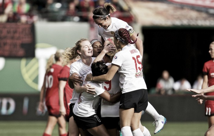 Western New York Flash through to the final after thrilling extra time win over Portland Thorns