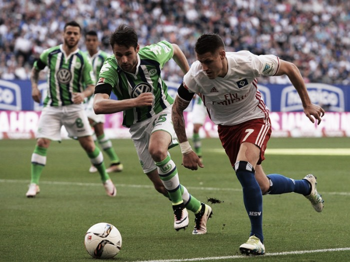 Hamburger SV 0-1 VfL Wolfsburg: Gustavo goal ends seven-match winless run