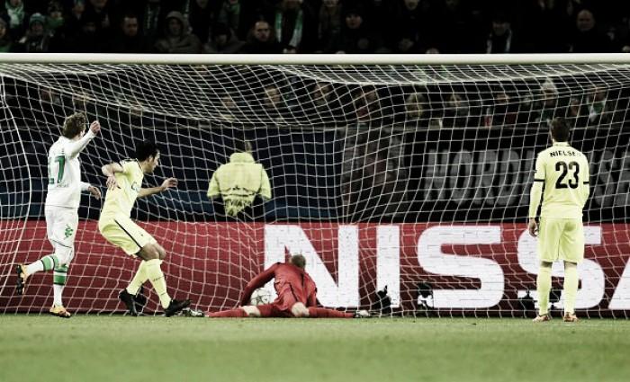 VfL Wolfsburg (4) 1-0 (2) KAA Gent: Schürrle seals Wolves passage into quarter-finals