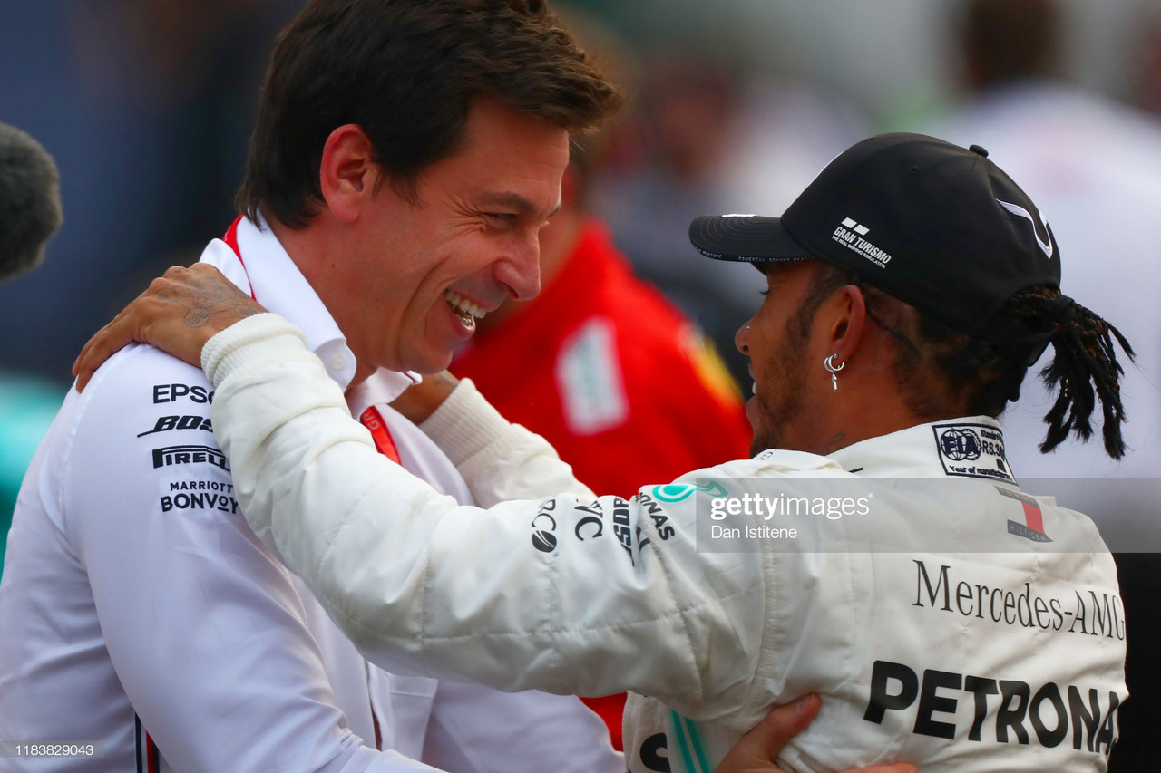 Mercedes' Toto Wolff to miss Brazilian Grand Prix