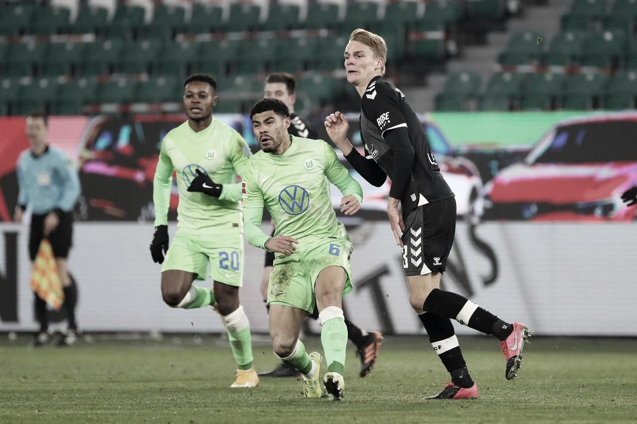 Wolfsburg domina primeiro tempo e derrota Freiburg