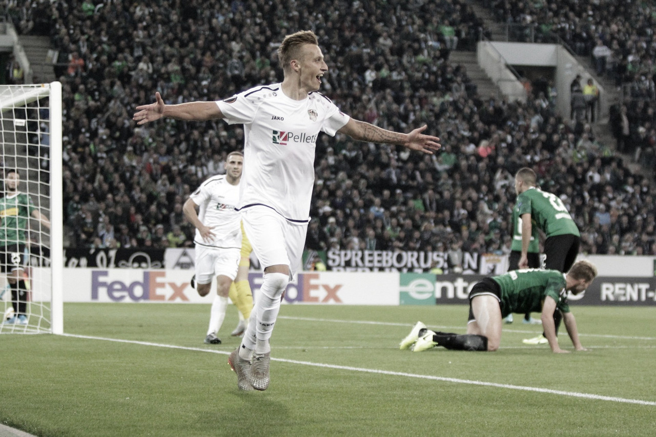 Borussia M'gladbach é goleado em casa pelo Wolfsberger na Europa League