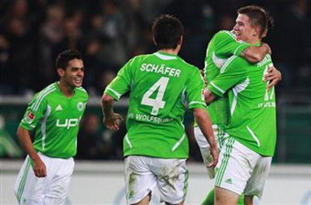 Wolfsburg sempre più in alto, rallentano Gladbach e Dortmund