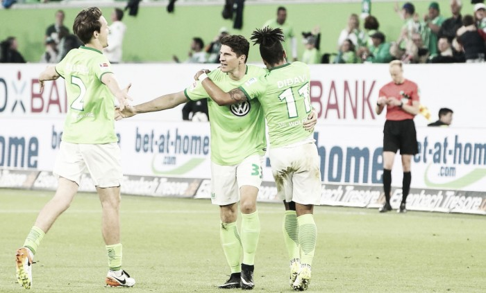 Bundesliga, andata playout - Gomez di rigore, primo atto al Wolfsburg: 1-0 al Braunschweig