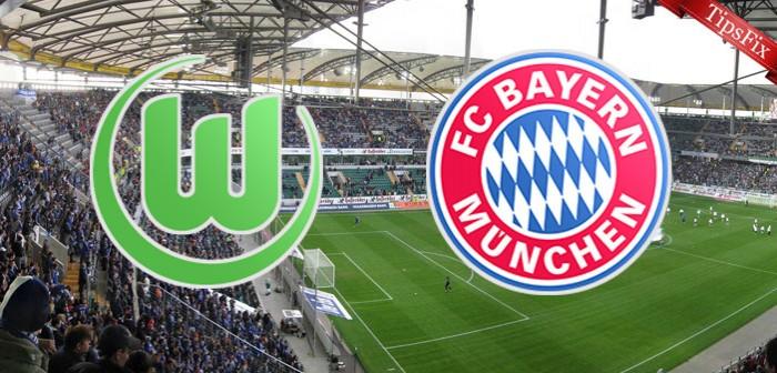 Resultado Wolfsburg x Bayern de Munique no Campeonato Alemão 2015/2016 (0-2)