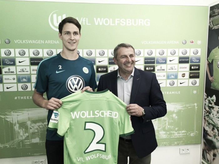 Wolfsburg complete signing of Philipp Wollscheid on a loan deal