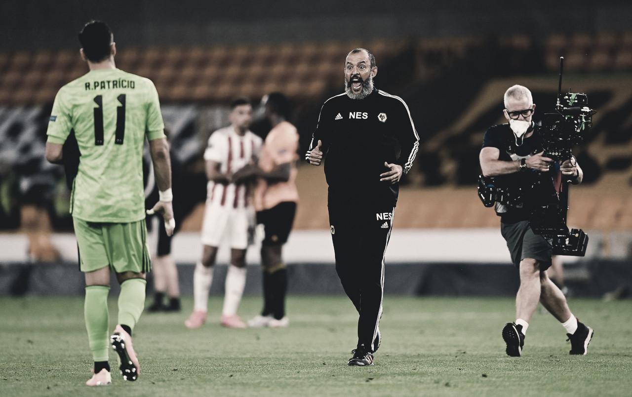 Wolverhampton bate Olympiacos e volta às quartas da Europa League após 48 anos