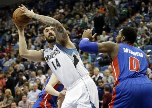 Detroit Pistons Fall To Minnesota Timberwolves, 112-101