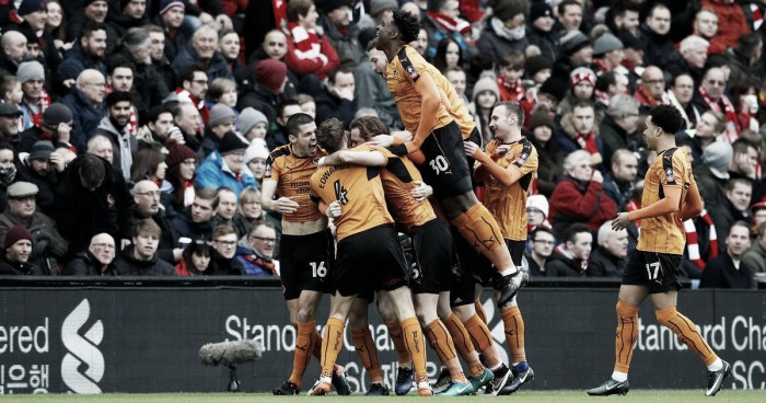 FA Cup, per il Liverpool è crisi senza fine: il Wolverhampton vince 2-1 ad Anfield