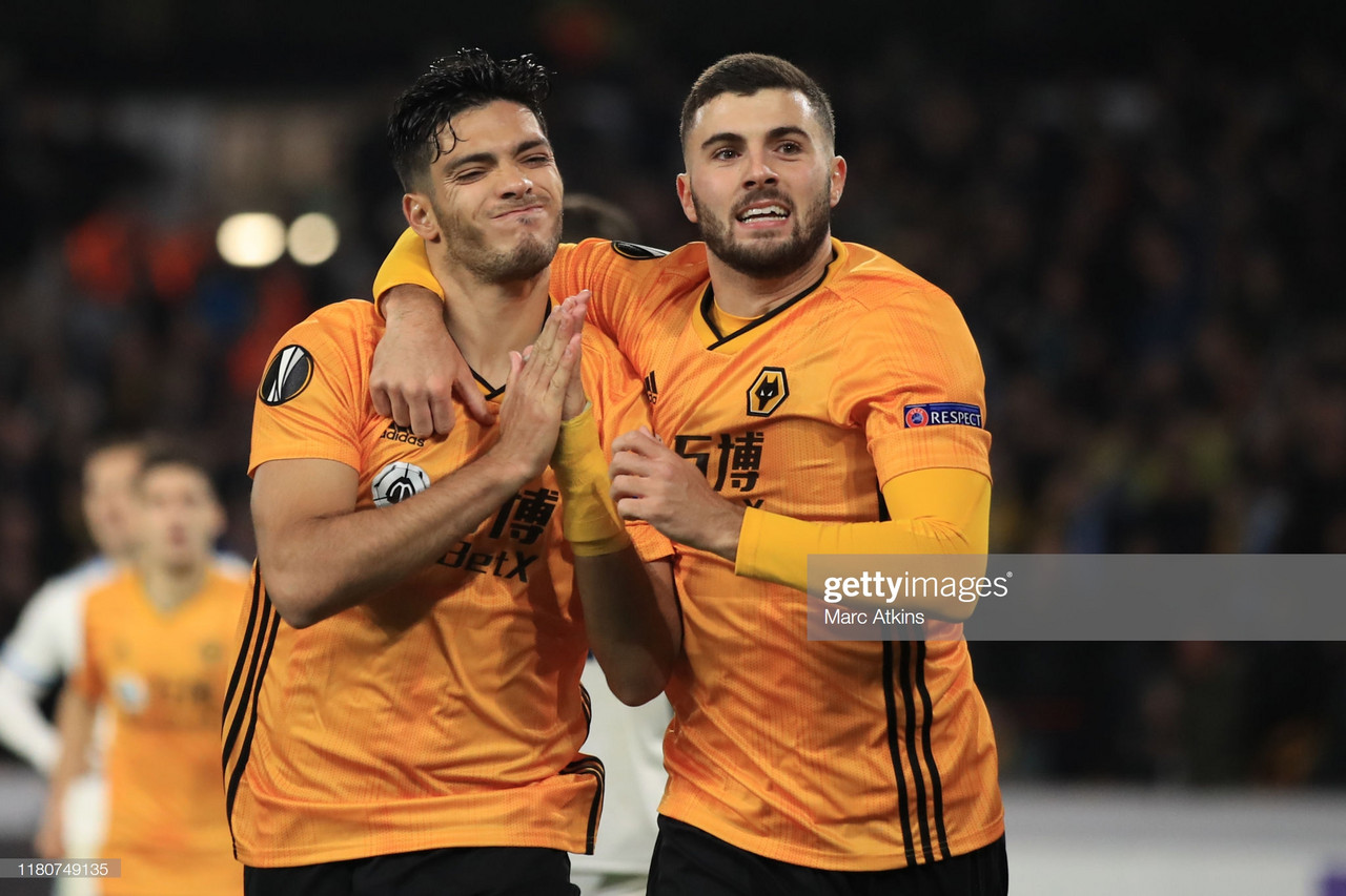 Wolverhampton Wanderers 1-0 Slovan Bratislava: Jimenez scores late as Wolves on the brink of knockout stages