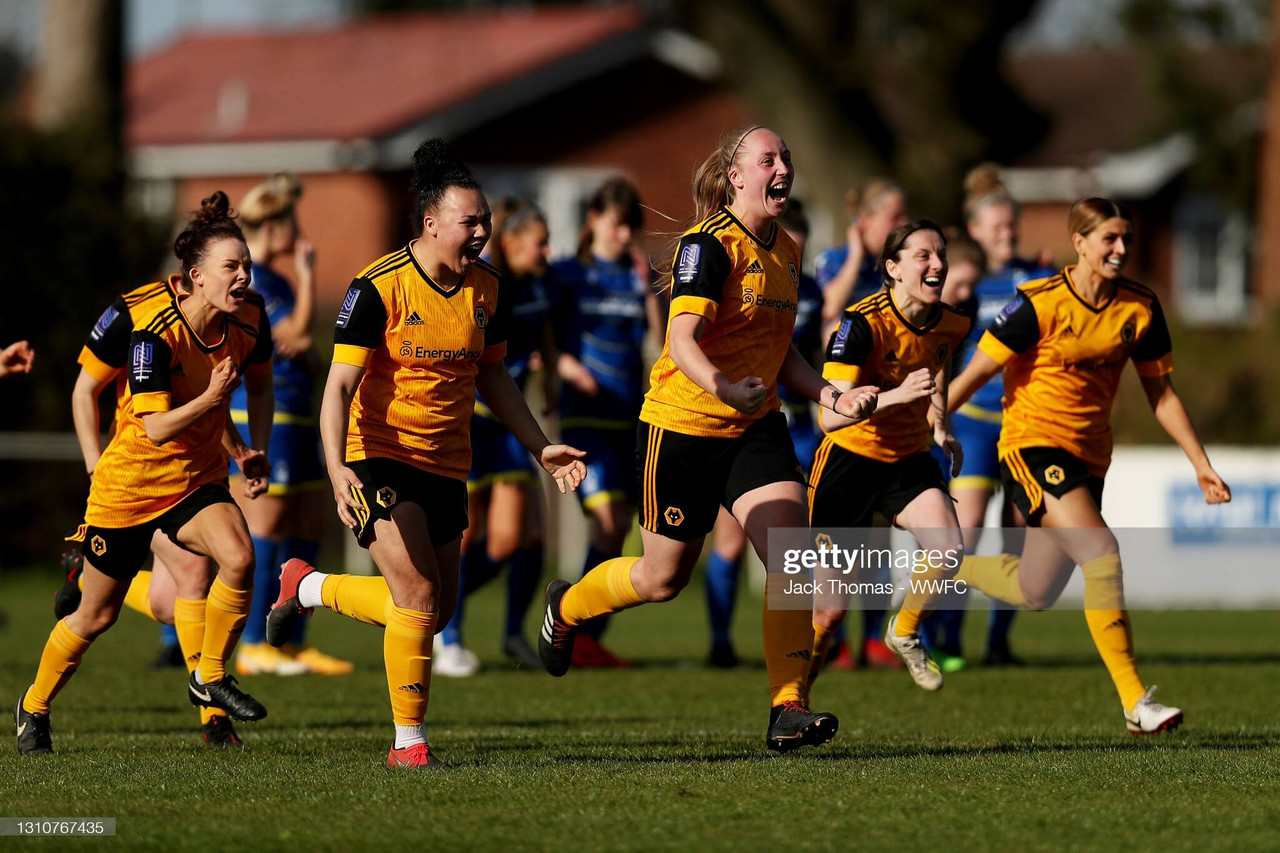 Claire Hakeman on this special Wolves team, making memories and rising up the leagues