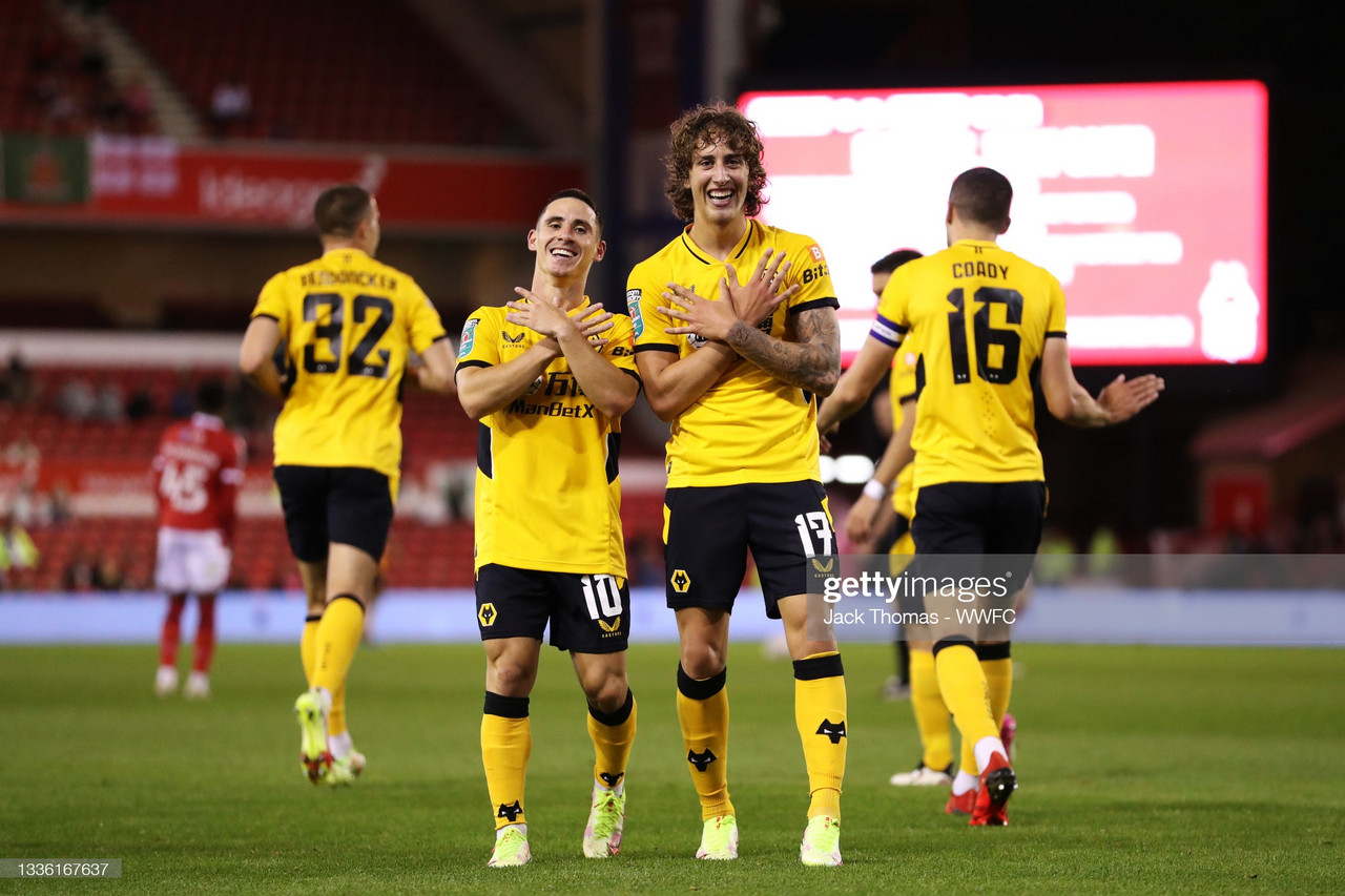 Nottingham Forest 0-4 Wolves: Commanding performance in Bruno Lage's first victory