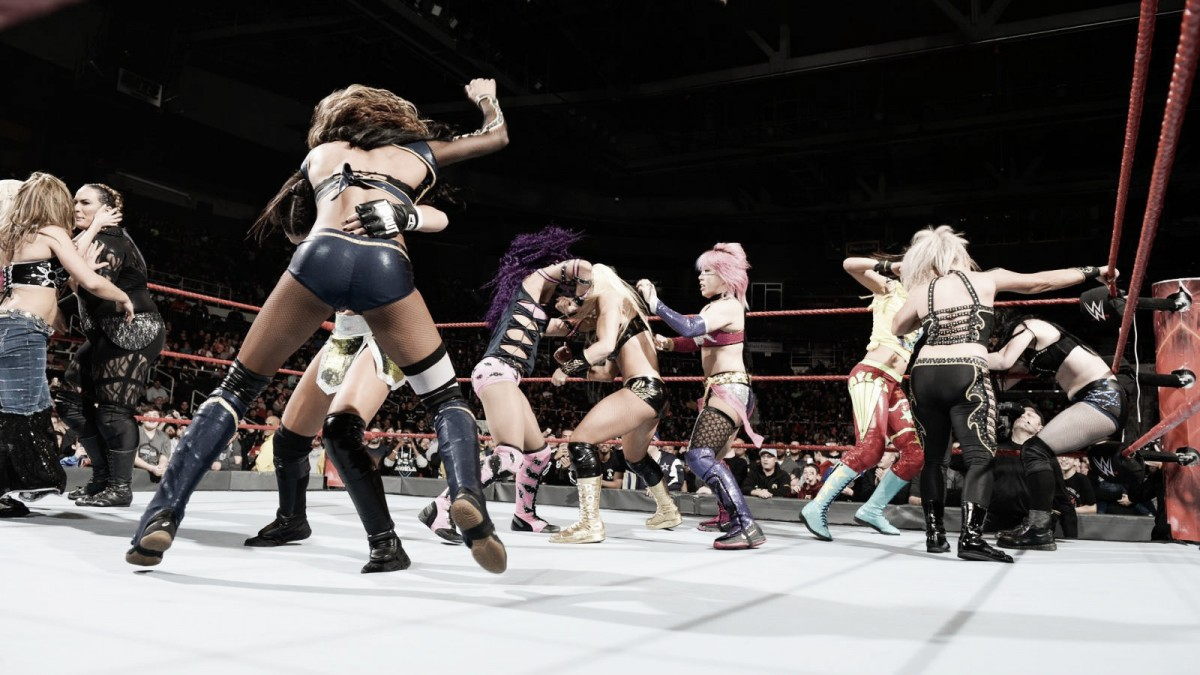 WrestleMania Woman's Battle Royal: un paso más
