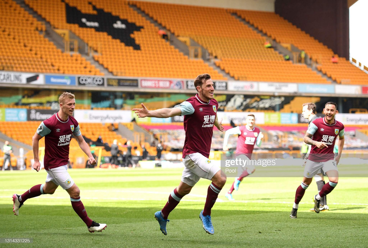 Wolves 0-4 Burnley: Wood scores first-half hat-trick to steer Clarets away from relegation zone