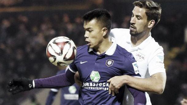 Erzgebirge Aue 2-0 RB Leipzig: New-look hosts secure comfortable derby win