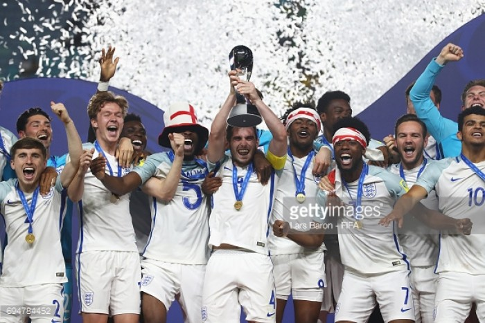 England win World Under-20 title with Calvert-Lewin strike