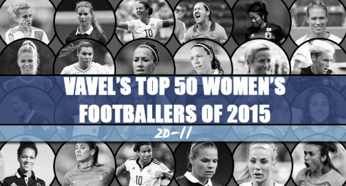 VAVEL UK's Top 50 Women's Footballers of 2015 - 20-11