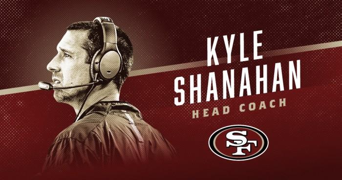 Após levar Falcons ao Super Bowl LI, Kyle Shanahan assume cargo de técnico no 49ers