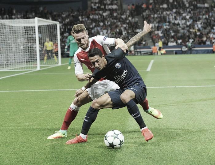 PSG domina no Parc des Princes, mas leva empate do Arsenal no fim