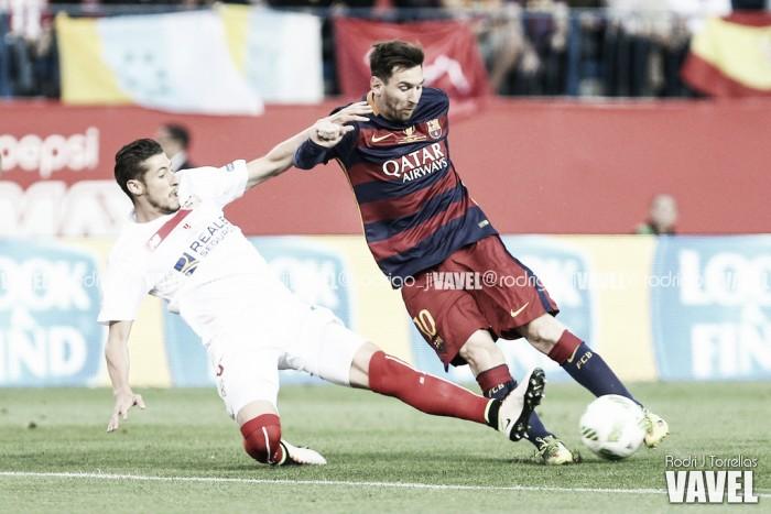 Em jogo pegado, Barcelona vence Sevilla na prorrogação e conquista bicampeonato da Copa do Rei