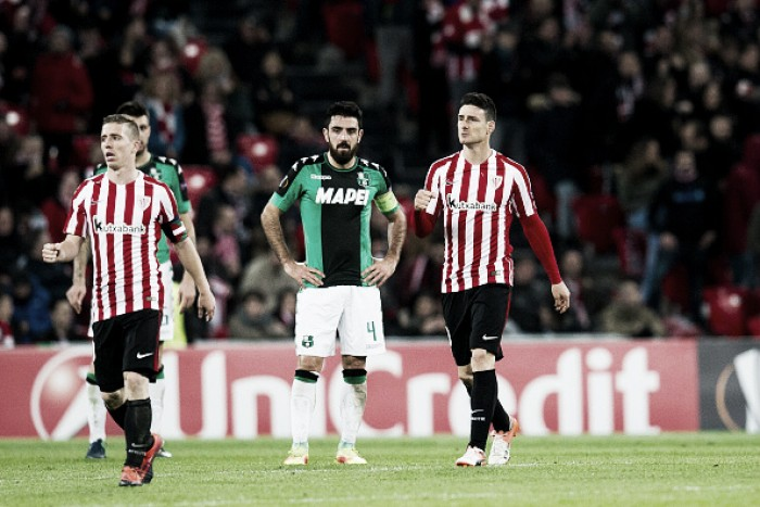 Athletic Bilbao supera Sassuolo com dificuldade e se classifica à segunda fase da UEL