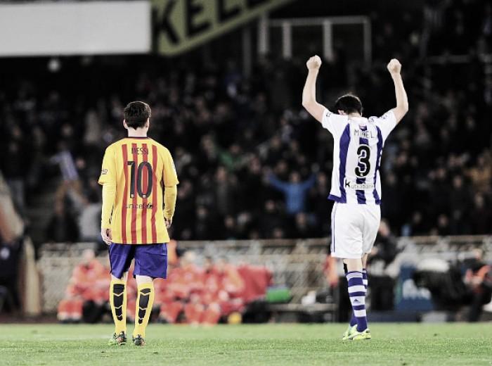 Sina? Barcelona ainda não venceu Real Sociedad no Anoeta nesta década