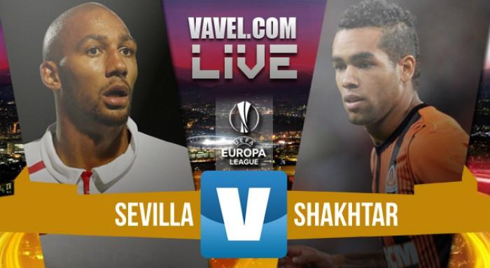 Resultado Sevilla x Shakhtar Donetsk na Uefa Europa League 2015/16 (3-0)