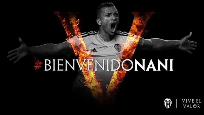 Valencia oficializa contratação do meia-atacante Nani, ex-Fenerbahçe