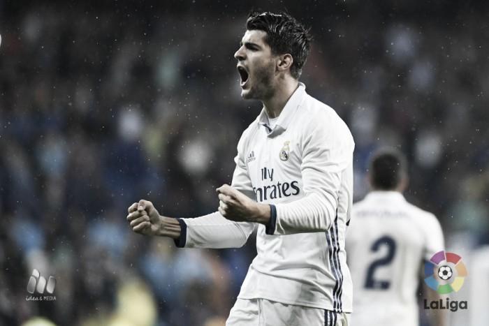 Aniversariante Morata decide, Real Madrid vence Bilbao e se isola na liderança da Liga