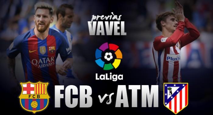 Após goleadas na última rodada, Barcelona e Atlético de Madrid duelam pelas primeiras posições
