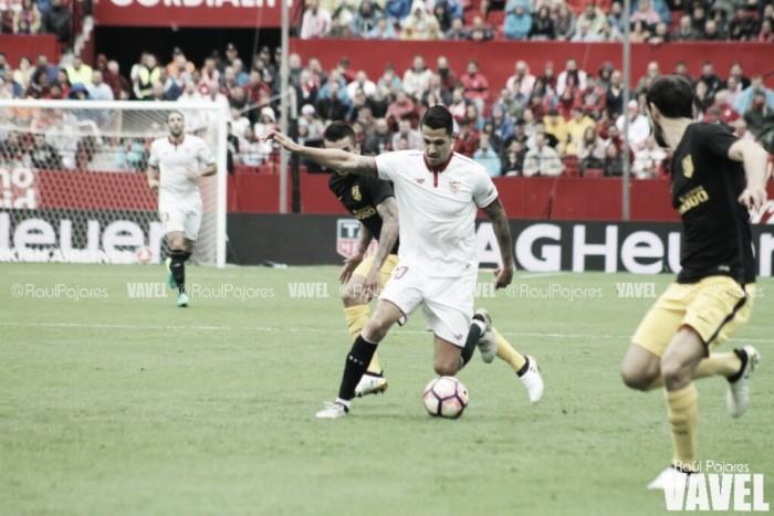 Sevilla bate Atlético de Madrid e assume liderança provisória do Campeonato Espanhol
