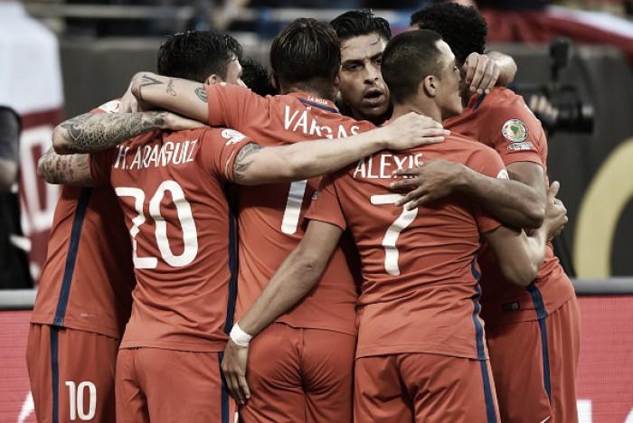 Chile: o caminho até a final da Copa América Centenário