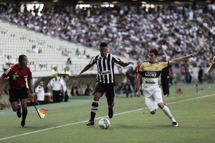 Ceará bate Criciúma com gol solitário de Bill e se consolida no G-4 da Série B