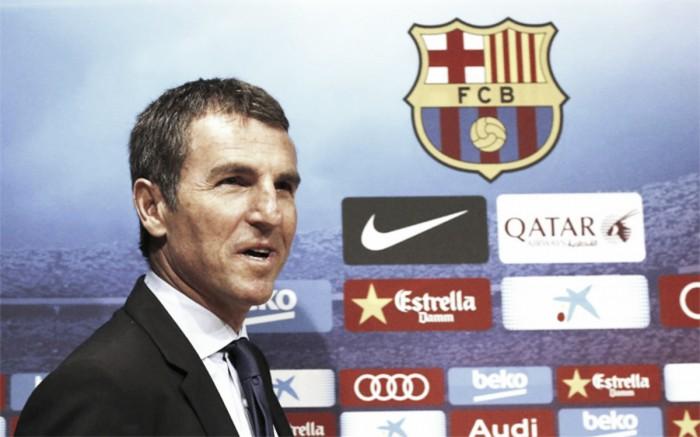 """Secretário técnico do Barcelona, Robert Fernández confirma saída de Daniel Alves: """"Decidiu partir"""""""