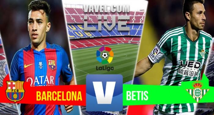 Resultado Barcelona x Betis pela Liga Espanhola 2016 2017 (6-2 ... 2118958c1e2bc