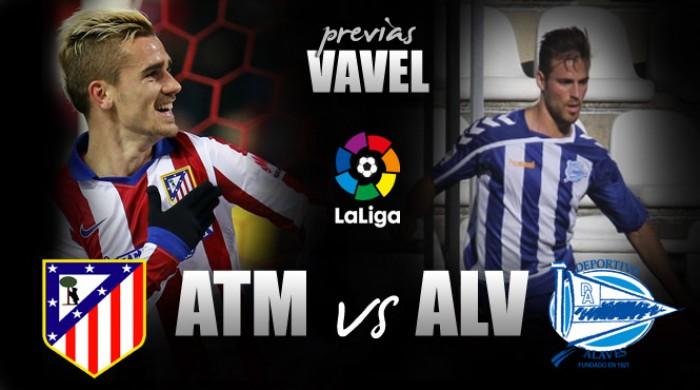 Atlético de Madrid recebe atual campeão da Liga Adelante Alavés na estreia do Espanhol