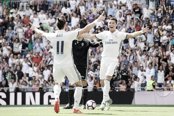 CR7 marca no retorno aos gramados, Real Madrid goleia Osasuna e segue invicto